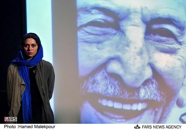 پگاه آهنگرانی در مراسم جشن تولد 88 سالگی مرتضی احمدی