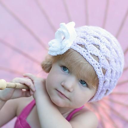 آموزش+بافت+کلاه+دخترانه