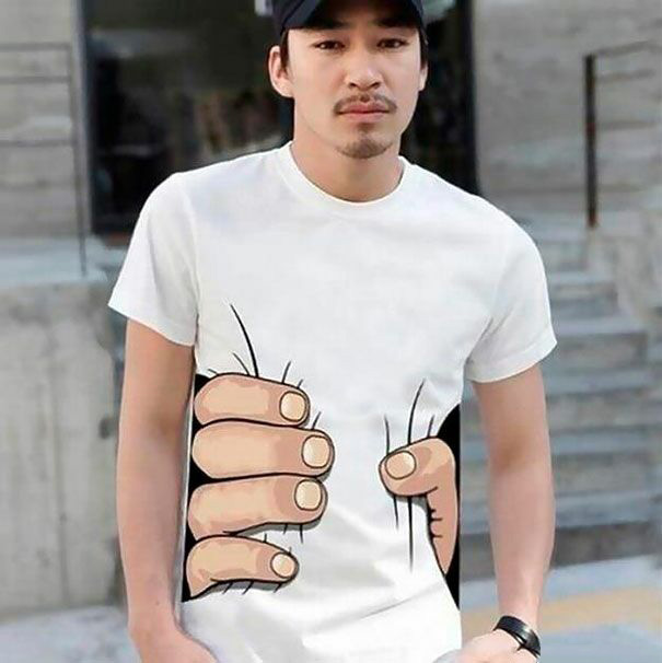 تی شرت های خلاقانه و بانمک