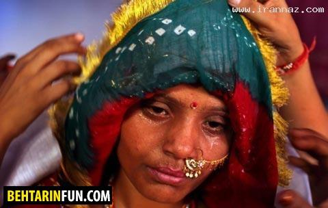 دنیای وحشتناک کم سن ترین عروسان دنیا! (+عکس)