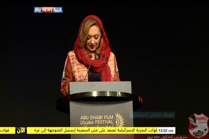 رقابت نیکی کریمی با گلشیفته فراهانی در جشنوارهی ابوظبی ! + تصاویر