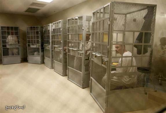 زندان انفرادی در آمریکا + عکس