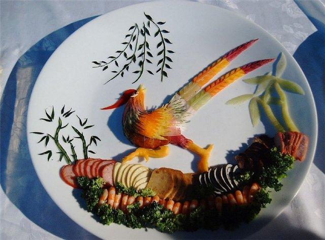 هنر آشپزی وتزیین شگفت آور غذا هنر چینی ها