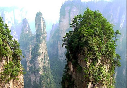 پارک ملی ستون های صخره ای