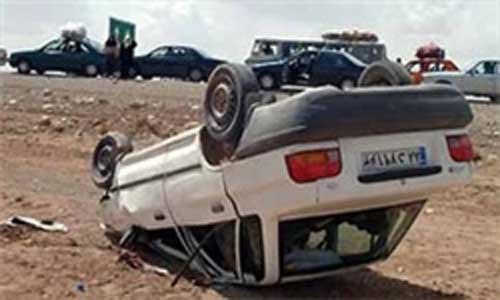 استخدام ۴ کشته در واژگونی خودرو پراید