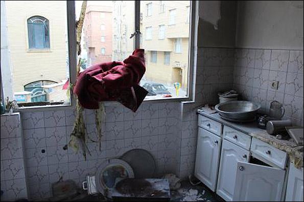 انفجار در مسعودیه تهران + عکس