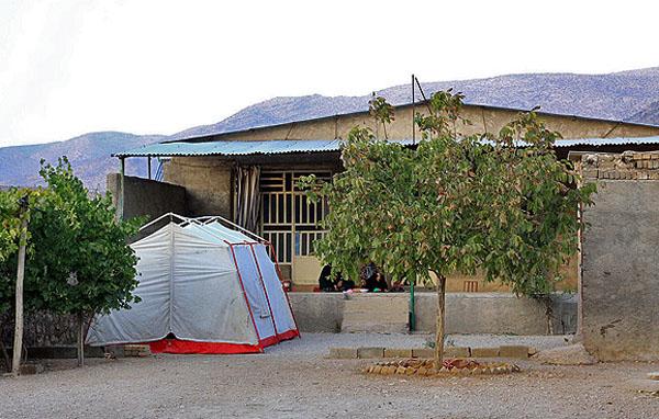 هراس زلزله در روستای مهارلو شیراز