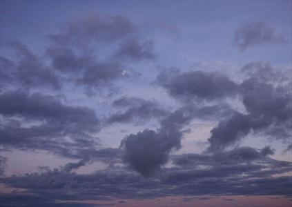 آسمان ابری در روز عرفه و عید قربان