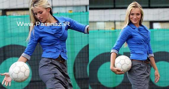 خانم ملکه زیبایی کرواسی مربی فوتبال مردان شد (+عکس)