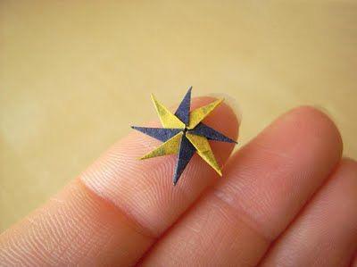 عکس های کوچکترین اوریگامی های دنیا