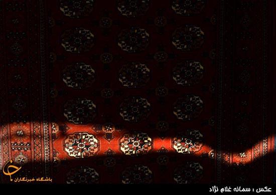 تصاویر هفتمین نمایشگاه فرش های دستباف عشایر و روستاها