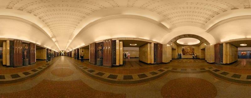 عکس های هنر در مترو مسکو