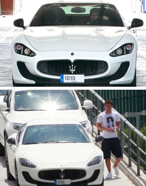اتومبیل لیونل مسی +عکس