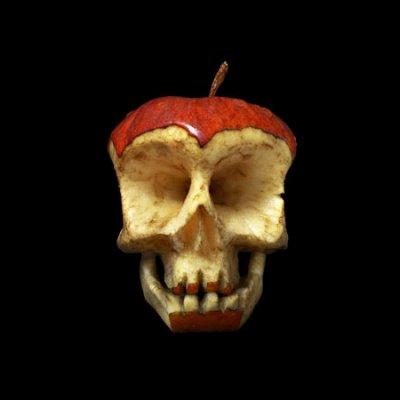 تصاویر ساخت جمجمه با میوه!