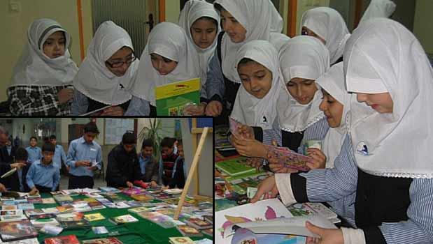 ۵۰ هزار نمایشگاه کتاب در ۵۰ هزار مدرسه