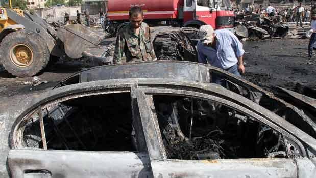 ادامه اقدامات تروریستی در شهر دمشق