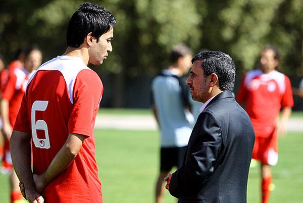 حضور سرزده رئیس جمهور در اردوی تیم ملی