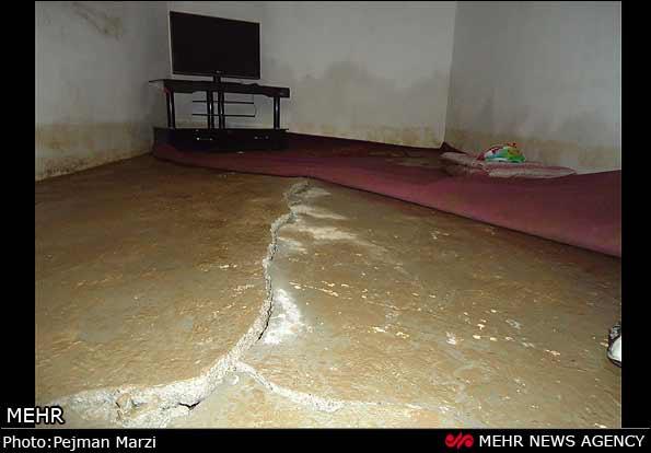 وضعیت اضطراری مناطق سیلزده نوشهر و چالوس +عکس