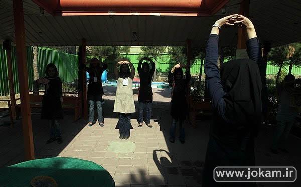 تصاویری از کمپ ترکاعتیاد بانوان معتاد شیشه