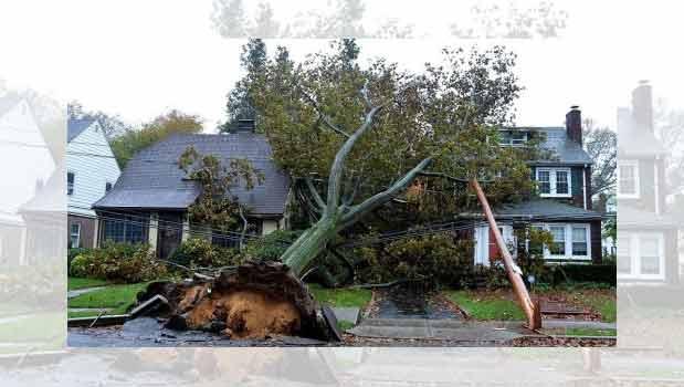 قطع برق بیش از۶میلیون ساکنان شرق آمریکا درپی توفان سندی