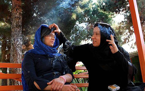 عکس های اولین کمپ ترک اعتیاد بانوان معتاد به شیشه