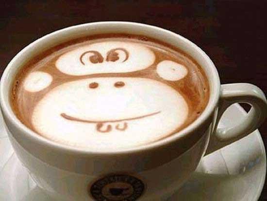 تصاویری از هنر اسپرسو یا قهوه
