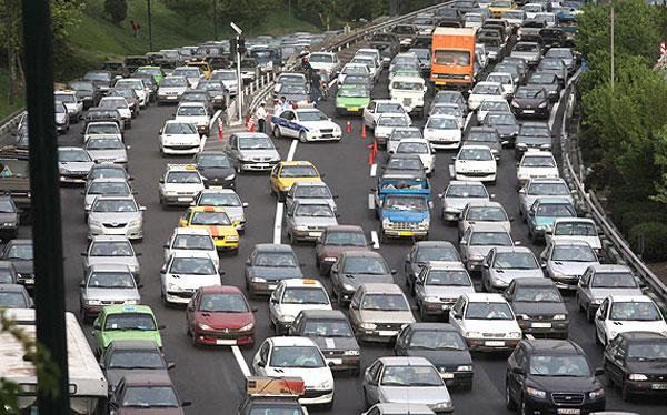 مسیرهای جایگزین برائ تردد در خیابان ولیعصر(عج)