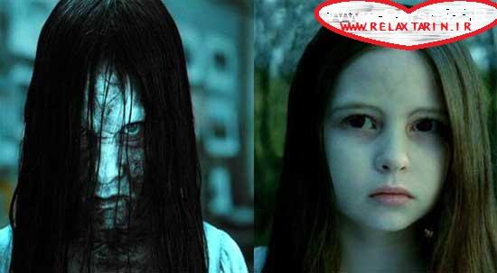 تصاویری واقعی دختری که در فیلم ها همه از او می ترسیدند +عکس