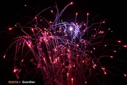تصاویری از شب آتش بازی در انگلستان