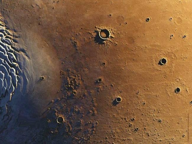 تصاویر نمایش خیره کننده از مریخ
