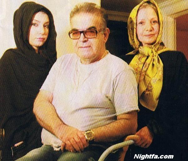 حمید لولایی بهمراه همسر و دخترش +تصاویر