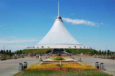 خان شاتر ، بزرگترین چادر دنیا در قزاقستان