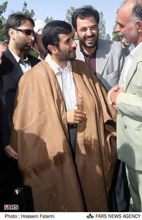 جعل عکس احمدی نژاد در دویچه وله آلمان