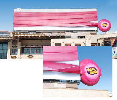 عکس های تبلیغات خلاقانه روی بیلبوردها