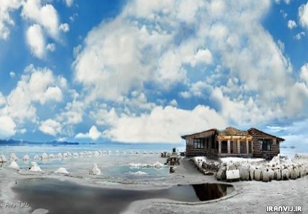 هتل قصر نمک شور ترین هتل دنیا