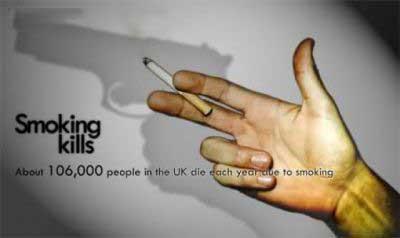تبلیغات خلاقانه ضد سیگار