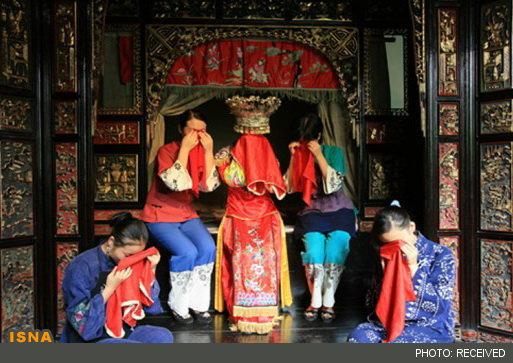 رسم بسیار عجیب عروس های چینی + عکس