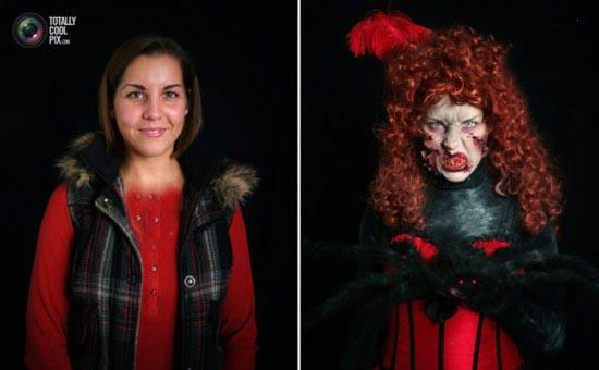 عکس های هالووین وحشتناک آلمانی ها