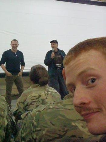 عکس های جیمز باند در افغانستان