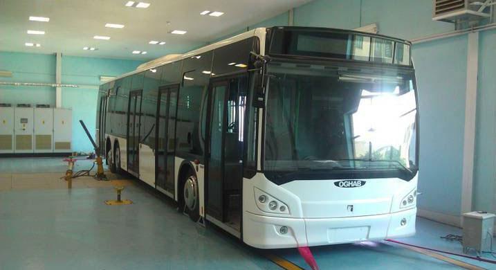 تولید ۷۵ دستگاه اتوبوس در مهر ماه