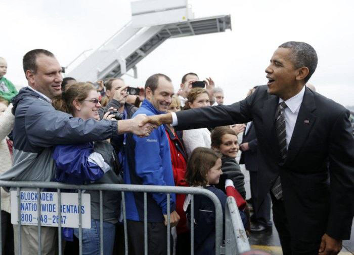 عکس های مقایسه ای از اوباما و رامنی