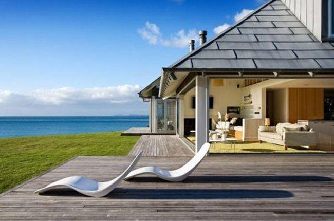 عکس های خانه های زیبا و رویایی ساحلی