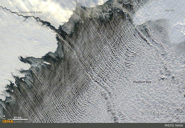 تصویر ناسا از «خیابان ابر» در فضا