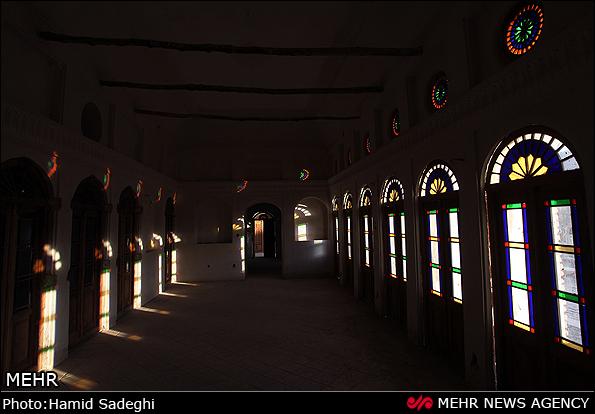 تصاویر زیباترین خانه خشتی و سنتی جهان در رفسنجان