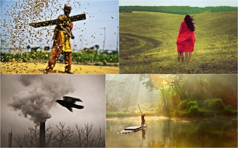 تصاویر برنده مسابقه عکاسی نگاه کودکان به کره زمین