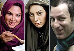 شهره سلطانی، مونا فرجاد و رامین ناصر نصیر روی صحنه تالار حافظ