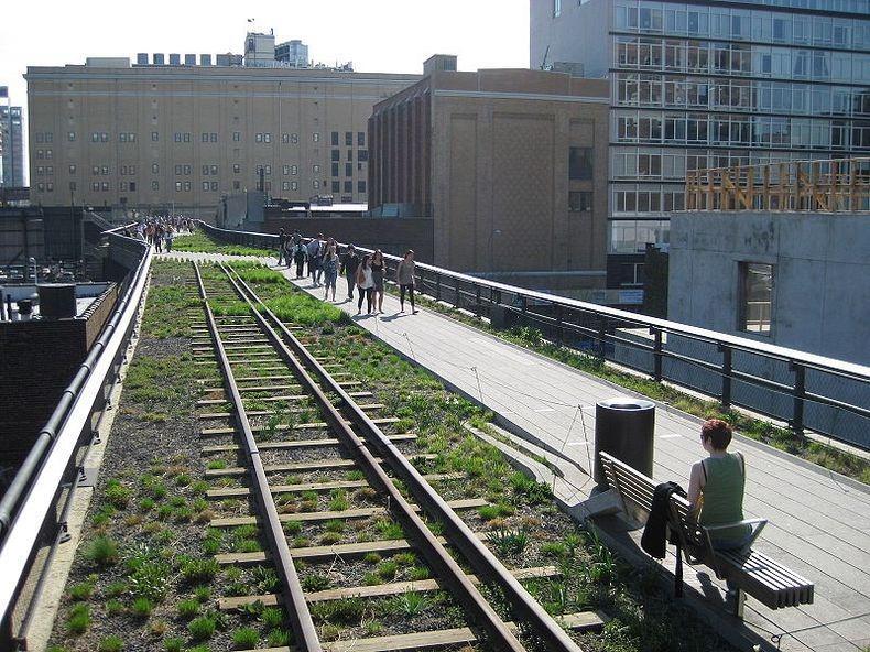 تبدیل خطوط راه آهن رهاشده به یک پارک در نیویورک