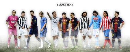 عکس/ تیم منتخب سال ۲۰۱۲