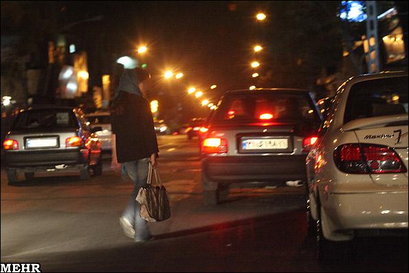 جمع آوری زنان خیابانی در تهران در یک هفته