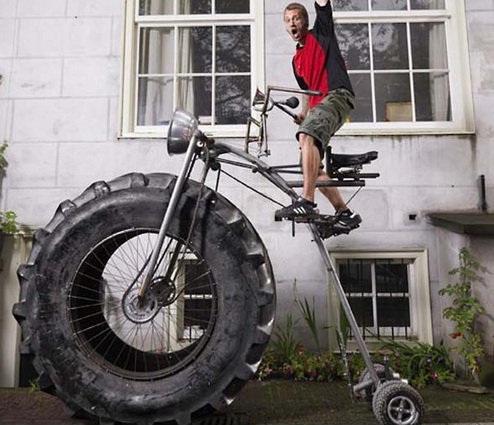 سنگین ترین دوچرخه جهان گینسی شد+عکس